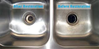 stainless steel sink polishing scratch removal raleigh