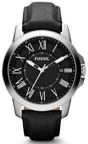 top 10 fossil watches for men fossil fs4745 men s grant three hand leather watch black