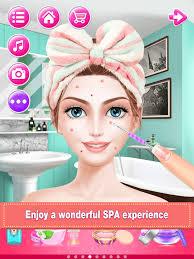 bridal boutique beauty salon wedding makeup dressup and makeover games screenshot 10