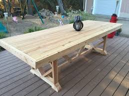 diy outdoor dining tables 1