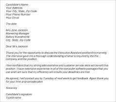 Collection Of Solutions Thank You Letter After Job Interview Email