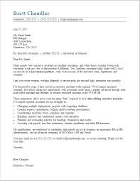 Cover Letter For Office Administrative Assistant Office