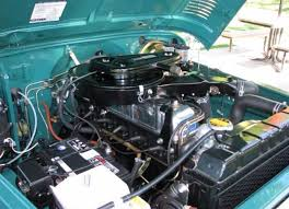 Toyota Land Cruiser 2F Engine Bay - FJ40 | Toyota Land Cruiser FJ40 ...