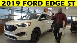 2019 Ford Edge Color Chart 2019 Ford Edge St Exterior Interior Walkaround