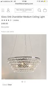 brand new white company chandelierin barnes london this is a brand new unopened chandelier