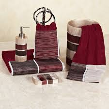 Decorative Bathroom Towel Sets Red Bathroom Decor Pictures Ideas And Inspirations Idolza