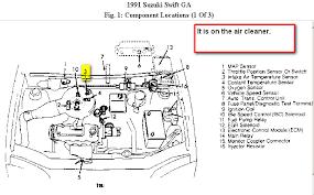 1991 suzuki swift gti diagram albumartinspiration com Suzuki Swift Fuse Box Diagram 1991 suzuki swift gti diagram where is the intake air temperature sensor on a 1991 suzuki 2001 suzuki swift fuse box diagram