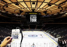 guided visit to madison square garden