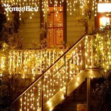 led outdoor decorative lighting outdoor lighting ideas design of outdoor led icicle lights