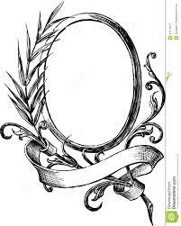hand mirror sketch. Drawn Mirror Old Fashioned Hand Sketch