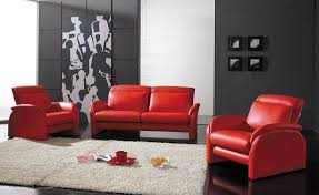 livingroom red leather couch design ideas sofa living room interior appealing decorating wonderful using white