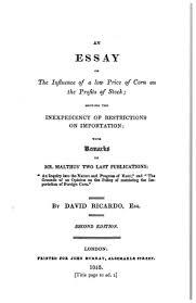 the works and correspondence of david ricardo vol pamphlets lf0687 04 figure 002 jpg