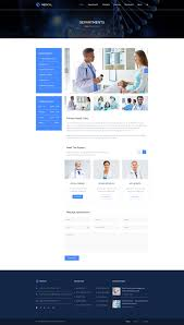 Web Design Grid System Photoshop Medical Health Psd Template Health Medical Template