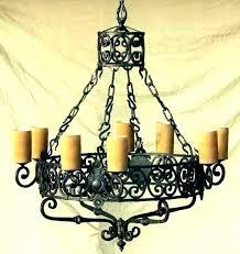 black candle chandelier non electric chandeliers outdoor uk