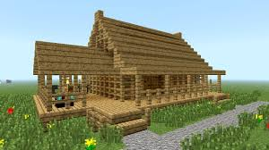 image of perfect minecraft small wooden house