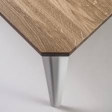 Esstisch Aus Massivholz Mit Metallfüßen 200 Cm