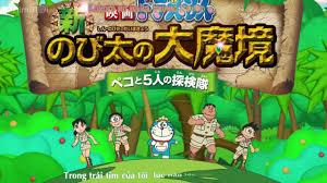PhimMoi Net Doraemon Nobita Tham Hiem Vung Dat Moi Doraemon Nobita and the  New Haunts of Evils 201   Doraemon, Minecraft, Manchester united