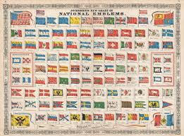 File 1864 Johnson Chart Of The Flags And National Emblems Of