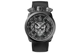 10 entry level automatic men s watches under £2 000 fashionbeans bomberg bolt68 limited edition skull