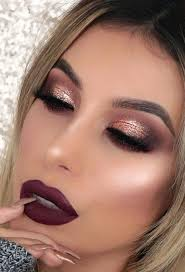 charming rose gold makeup looks from day to night see more glaminati