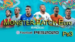 باتش مونستر PATCH Euro Edition PES 2020 PS3 يورو 2020 - YouTube