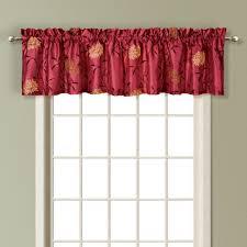 Red Swag Kitchen Curtains Kitchen Curtain Set