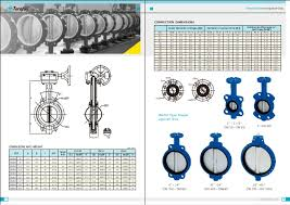 Butterfly Valve Size Chart Terofox Api609 Resilient Seated Butterfly Valve Rev 00