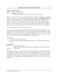 Resume Cover Letter For A Job Fair Adriangatton Com