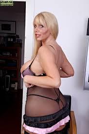 Big tit mature blonde