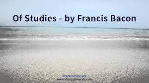 of studies by francis bacon