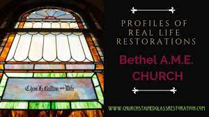 why do churches have stained glass
