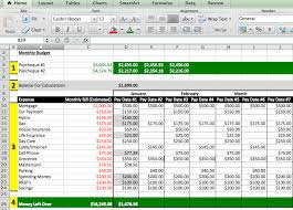 Budget Layout Excel Example Excel Budget Spreadsheet Excel Spreadsheet How To