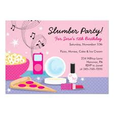 Creative Free Slumber Party Invitation Ideas Be Modest