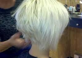 short blonde graduated hairstyles