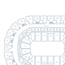 Chesapeake Energy Arena Interactive Seating Chart
