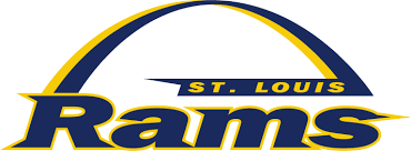 St. Louis Rams Primary Logo - National Football League (NFL) - Chris ...