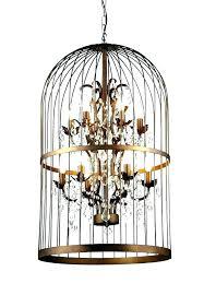 chandeliers birdcage crystal chandelier fancy bird cages chandeliers cage outstanding antique