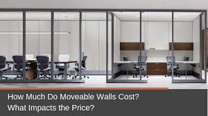 how much do moveable walls cost what