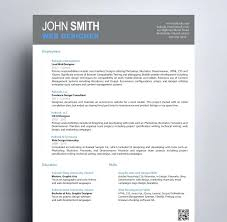 Freelance Designer Resume Resume For Freelance Designer Design For