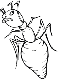 Small Picture Coloring Pages Ants Coloring Pages Free Coloring Pages Ant Farm