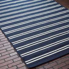 racing stripe navy blue outdoor rug