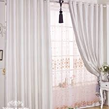 White Curtains For Bedroom Decorating | Mellanie Design
