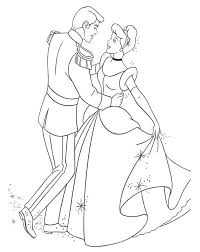 Small Picture Disney Princess Cinderella Coloring Pages Free Coloring Pages