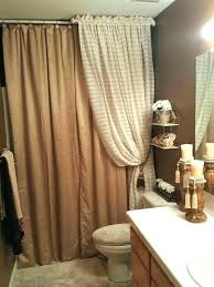 glamorous l shaped shower curtain rod with ceiling support short adjule