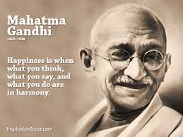 Famous Happiness Quotes Stunning Mahatma Gandhi Happiness Quotes Inspiration Boost