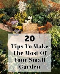 20 tips to make the most of your small garden jpg