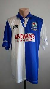 Save on a huge selection of new and used items — from fashion to toys. Football Shirt Soccer Blackburn Rovers Home 1994 1995 Asics Champions Jersey L Ebay