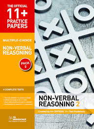 multiple test 11 practice papers non verbal reasoning pack 2 multiple choice