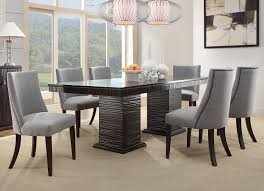 gray dining room table. Amazon.com - Homelegance 2588S Accent/Dining Chair (Set Of 2), Blue/Grey Chairs Gray Dining Room Table
