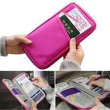 <b>Korean Style Multi</b>-<b>function</b> Passport <b>Wallet</b> Travel <b>Storage</b> Bag ...